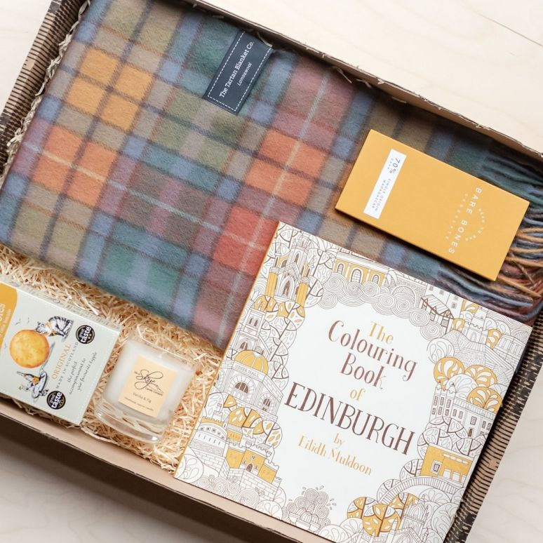 Tartan Blanket Co Giftbox