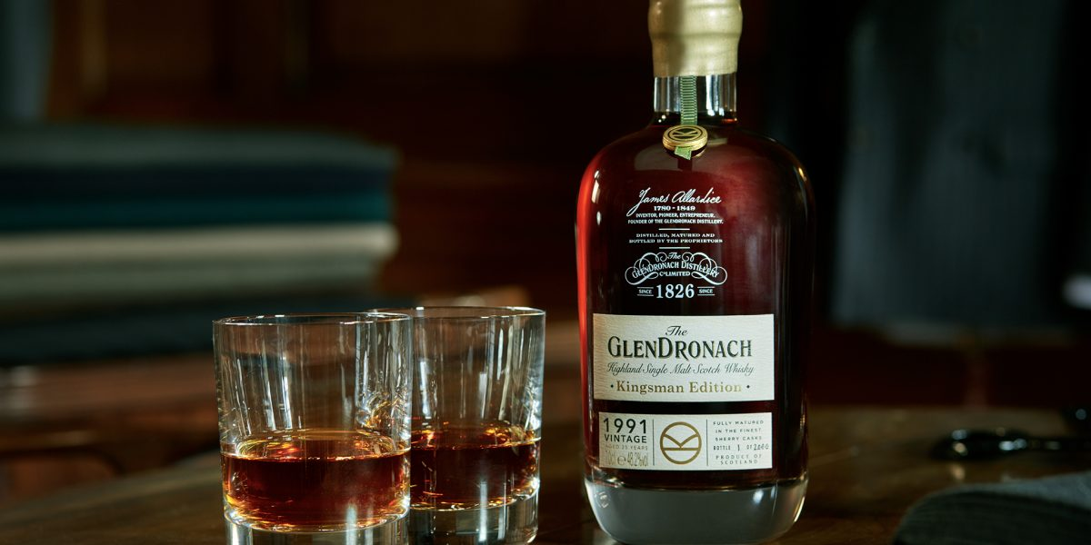 The Glendronach Kingsman Bottle