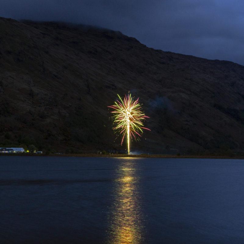 Fireworks Loch Fyne