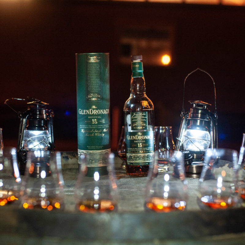 The Glendronach Whisky Tasting